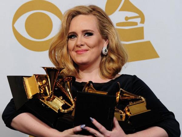 Adele en los Grammys