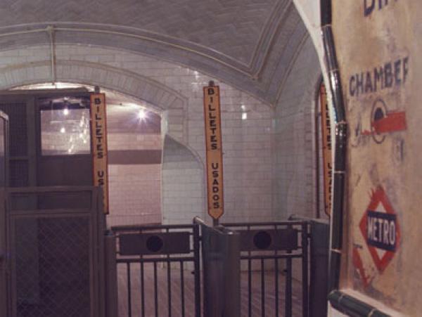 La estación fantasma que se convirtió en el Museo del Metro