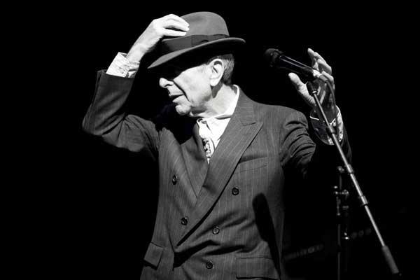 Leonard Cohen llega a Madrid en Octubre