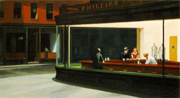 Edward Hopper, la soledad cotidiana