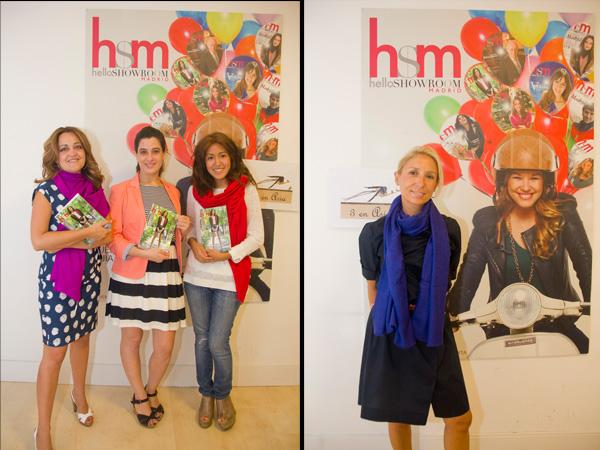 Las ganadoras de los premios sorteados en Cibelespacio visitan nuestra redacción