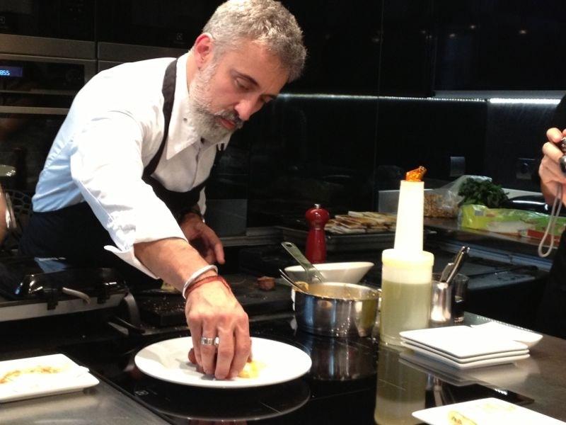 Tres delicatessen a lo Sergi Arola