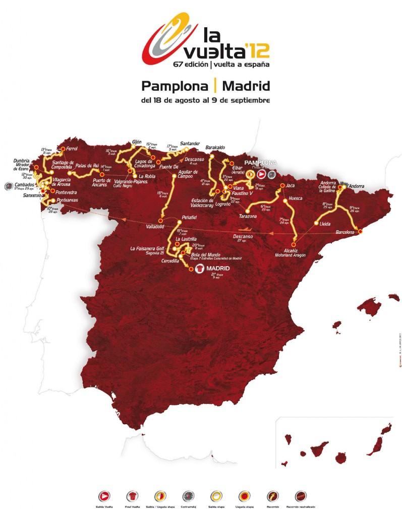 Las dos últimas jornadas de la Vuelta Ciclista recorrerán tierras madrileñas