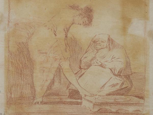 El Museo del Prado presenta una selección de dibujos de Goya prácticamente inéditos