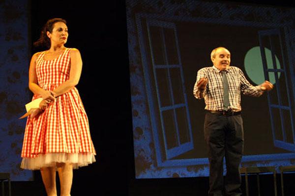 """La comedia """"Wilt, el crimen de la muñeca hinchable"""" en el Teatro Bellas Artes"""