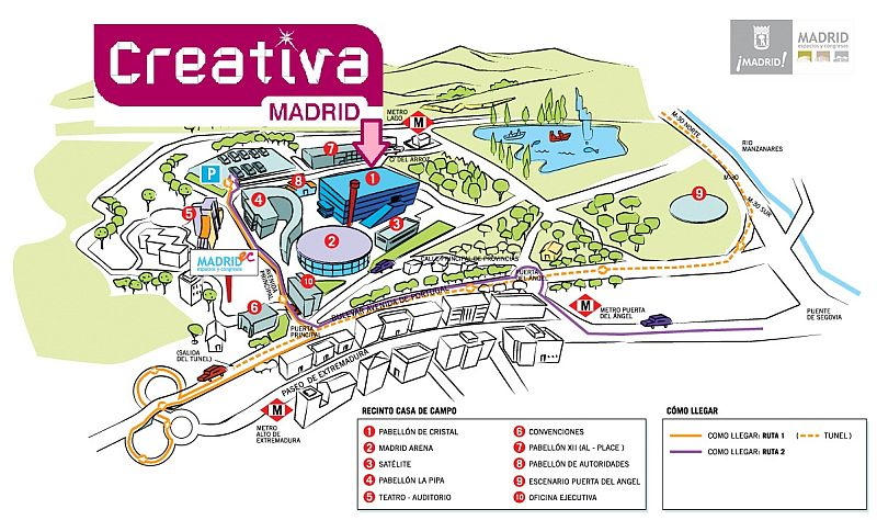 ¡Ven al Stand de hsm en Creativa 2012!