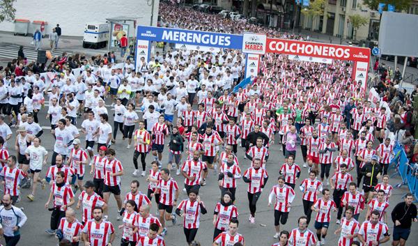 Vuelve el derbi de las aficiones a las calles de Madrid