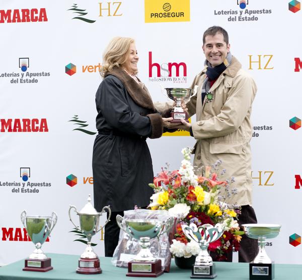 Jevenese One gana el primer Premio Hsm en el Hipódromo de La Zarzuela