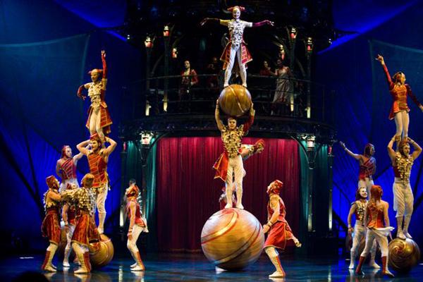 Gran éxito de Kooza, el último espectáculo del Circo del Sol