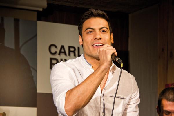 Carlos Rivera presenta en formato acústico su disco 'El hubiera no existe'