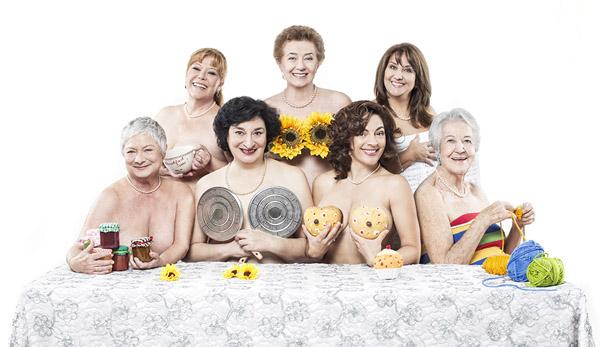 Beatriz Carvajal, María Garralón, Asunción Balaguer, Soledad  Mallol y Berta Ojea son 'Las chicas del Calendario'