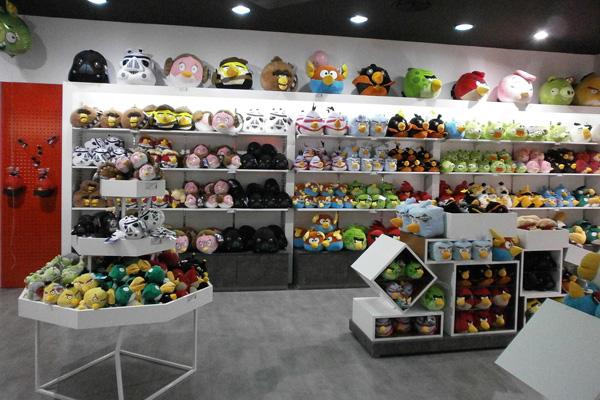 Parquesur acoge la mayor tienda oficial de Angry Birds