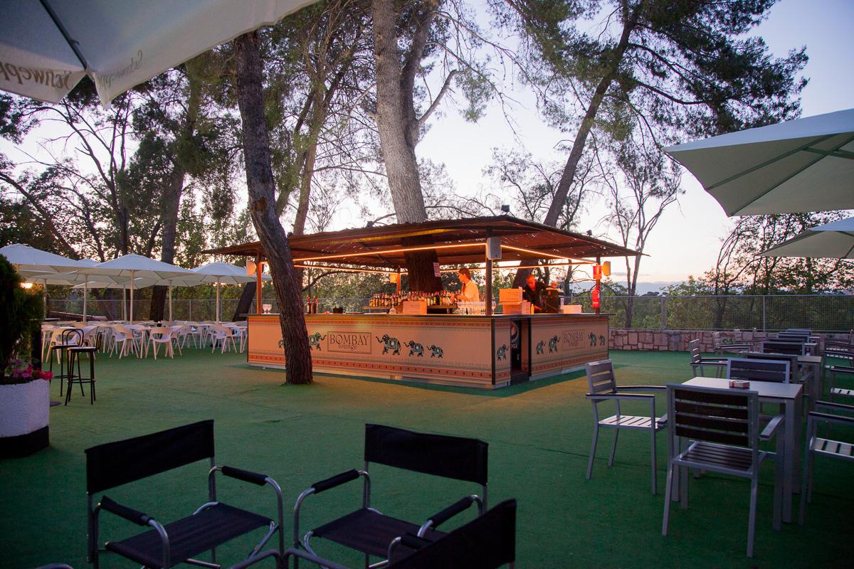 Disfruta de un ambiente nico en bombay la nueva terraza for Terrazas nocturnas madrid