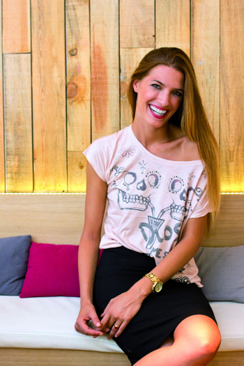 La modelo Laura Sánchez nos habla de su firma Bloomers&Bikini