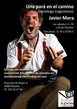 Noche de monólogos con Javier Mora en La Graciosa