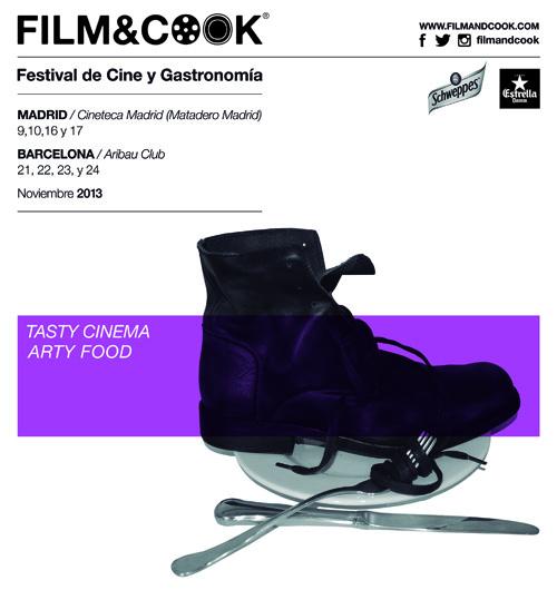 El festival de cine gastronómico Film & Cook se celebrará en Madrid en noviembre
