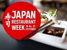 La Japan Restaurant Week aterriza en Madrid del 18 al 27 de octubre