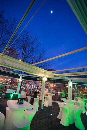Nuevo restaurante 90 GRADOS con terraza en Madrid