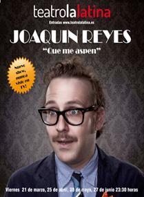 """Joaquín Reyes: """"Mi trabajo consiste en vestirme de mamarracho pero no deja de ser un trabajo"""""""