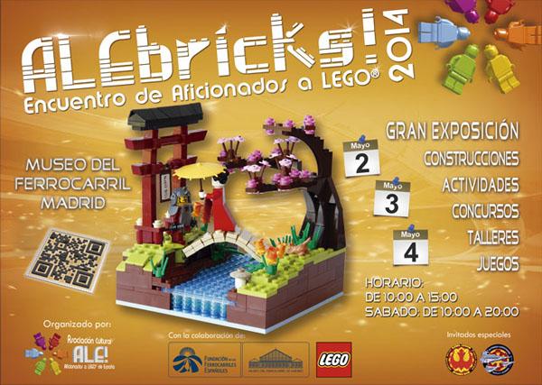 Llega ALEbricks, la exposición para los aficionados a LEGO y Star Wars