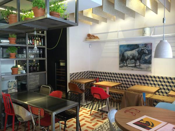 Taberna Pedraza, una casa de comida tradicional en Madrid