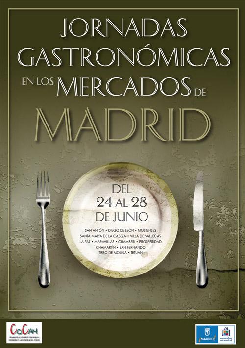 Los Mercados de Madrid celebran sus II Jornadas Gastronómicas