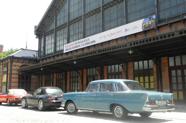 La primera feria 'EXCLUSIVO RETROCLÁSICA del automóvil y el ferrocarril' será solidaria