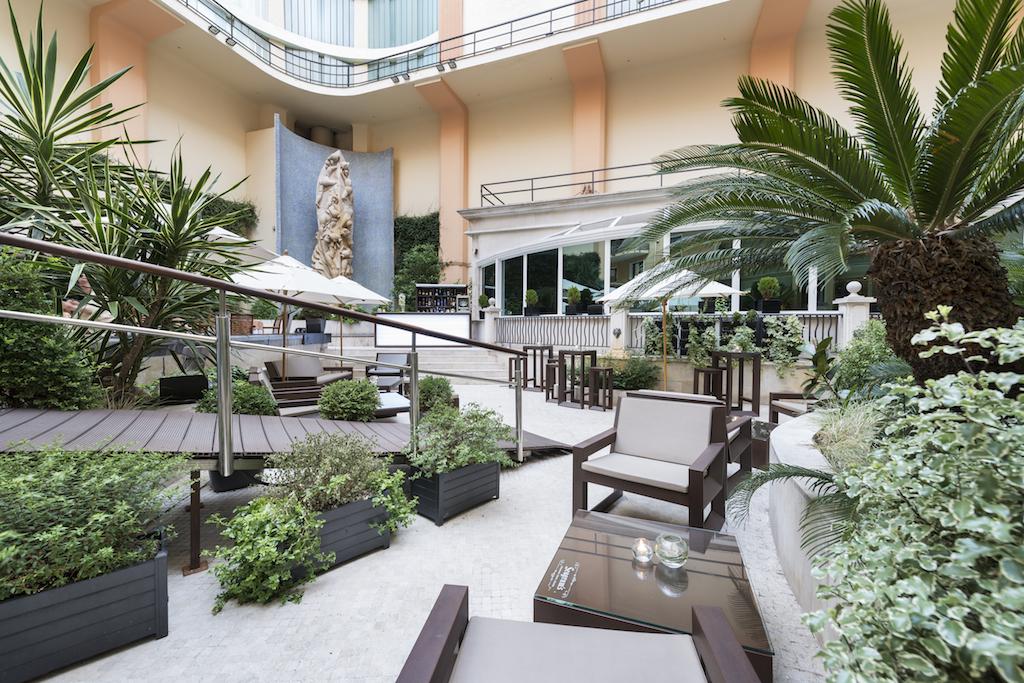 La terraza del Hotel InterContinental se renueva