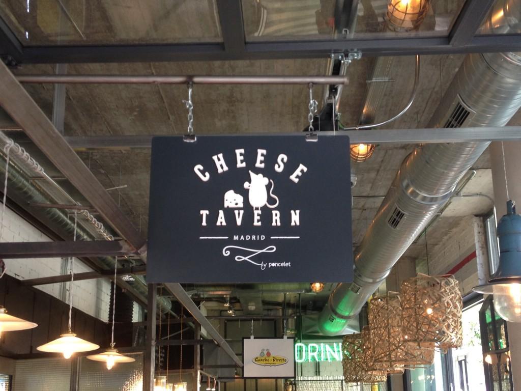Cheese Tavern, el nuevo concepto quesero de Poncelet, abre en el Mercado de San Ildefonso