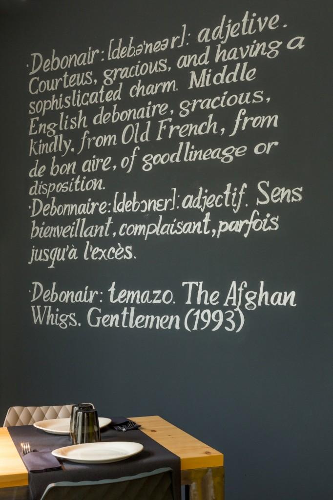 Debonair restaurant