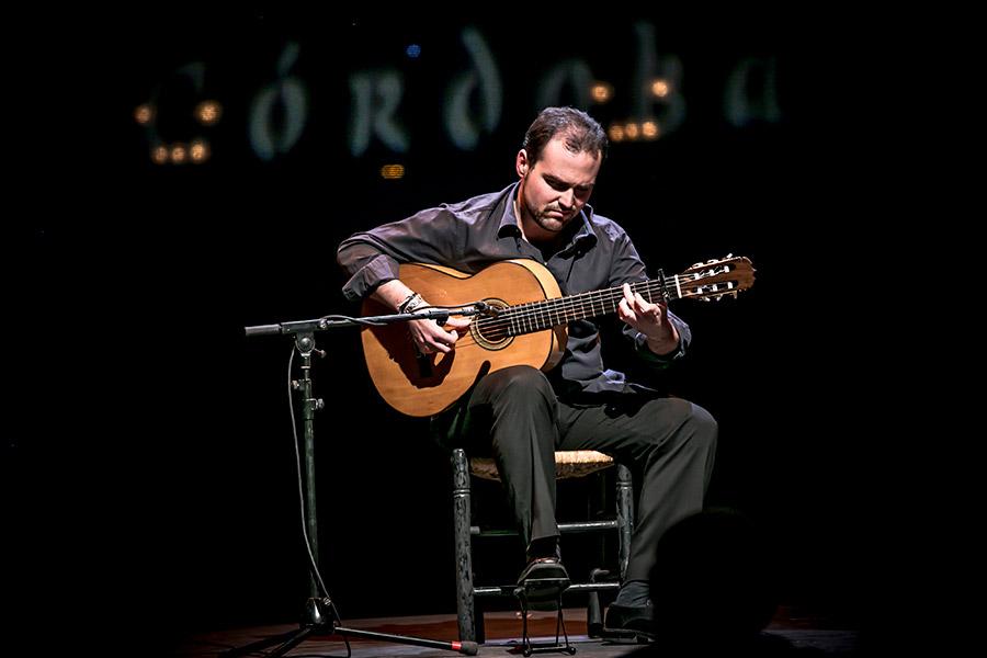 Guitarra y Flamenco en los jardines de Lázaro Galdiano