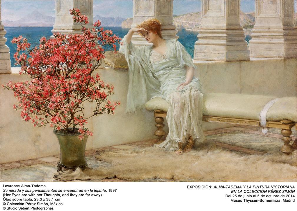 Alma‐Tadema y la Pintura Victoriana en la colección Pérez Simón