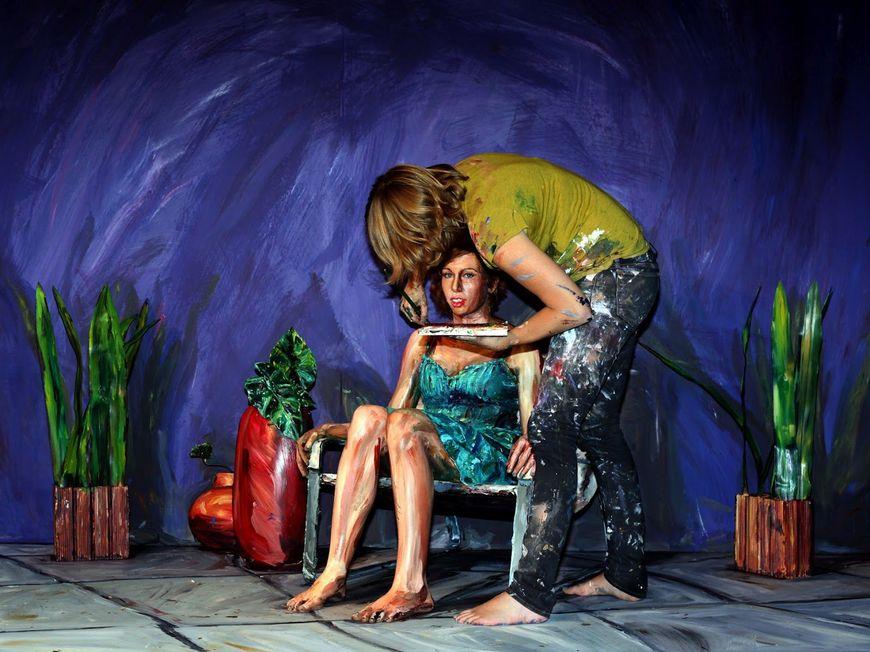 La artista bidimensional Alexa Meade llega a Madrid de la mano de Denim & Supply Ralph Lauren