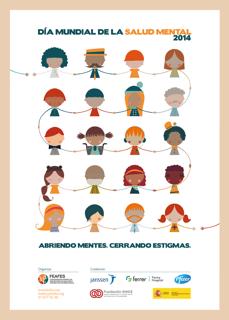 Cartel Día Mundial Salud Mental