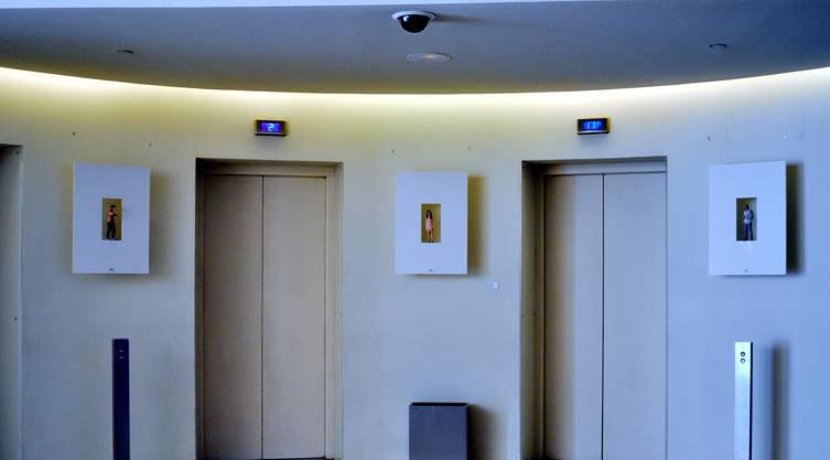 Foto escultura 3D, en el Hotel Silken Puerta de América