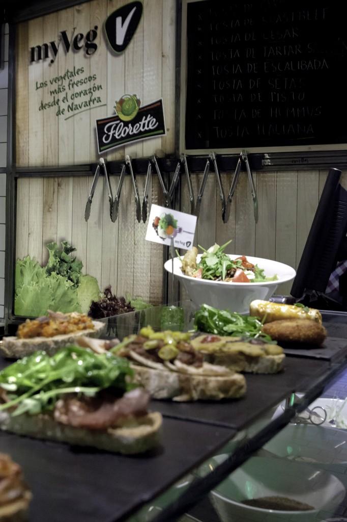 Florette y MYVEG en el Mercado de San Ildefonso, para amantes de la comida sana