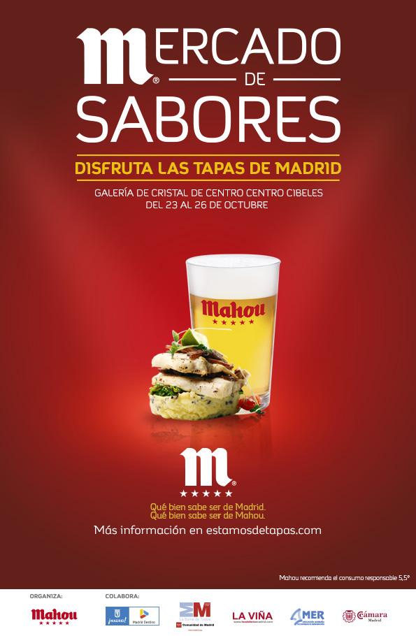 Llega la I edición del Mercado de Sabores: con Mario Sandoval, David Muñoz y Chicote, entre otros