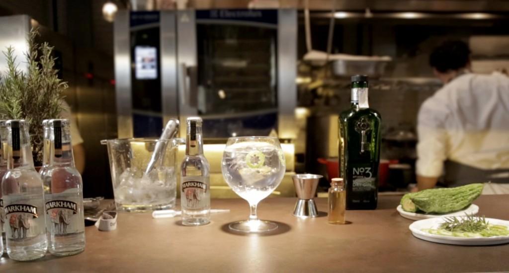 Markham presenta tres gin tonics gourmet de la mano de tres chefs gourmet