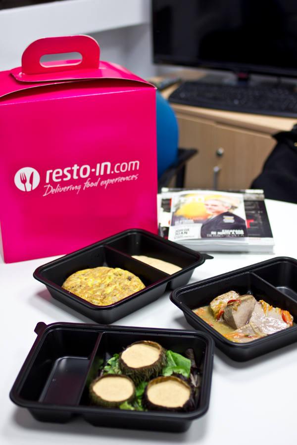 RESTO-IN, la nueva forma de pedir comida a domicilio