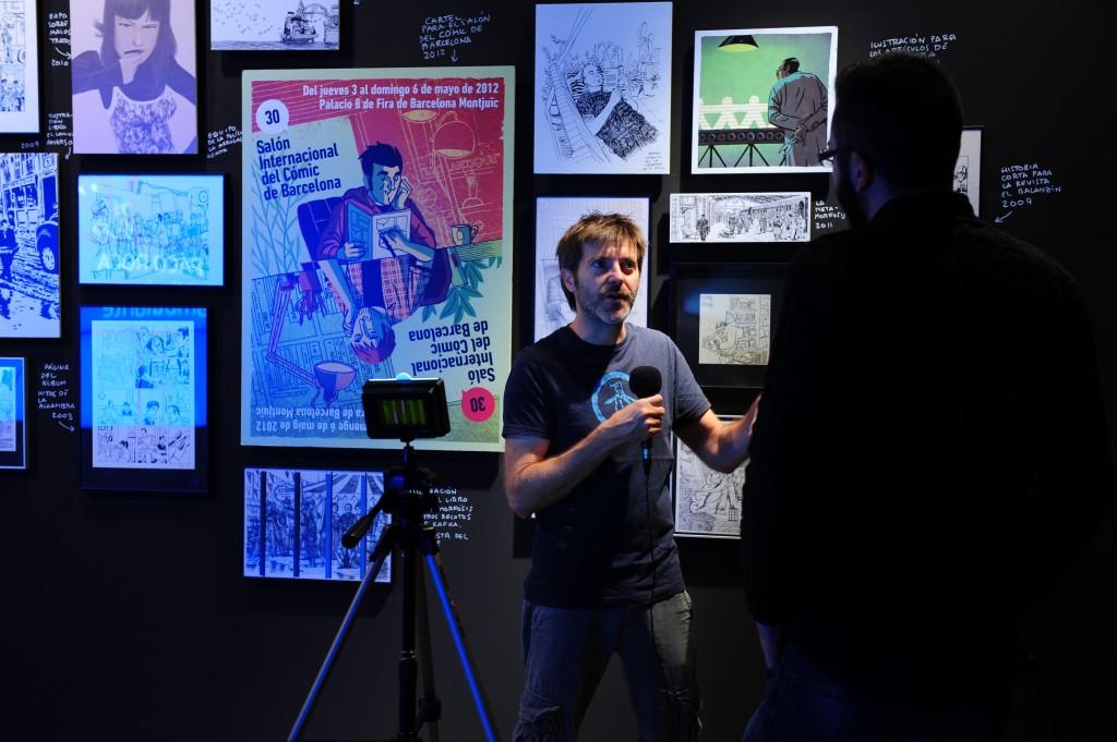 El dibujante Paco Roca presenta una exposición sobre su proceso creativo