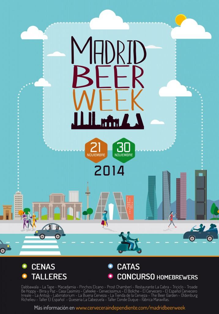 Llega Madrid Beer Week, toda una semana dedicada a la cerveza