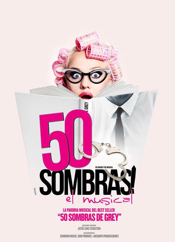 50 sombras, el Musical es la parodia del best-seller '50 Sombras de Grey'