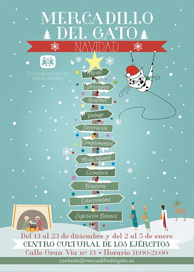 Mercados de Navidad: Mercadillo del Gato
