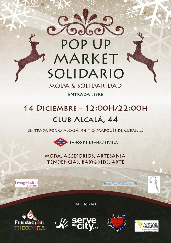Pop Up Market Solidario: Moda & Solaridad