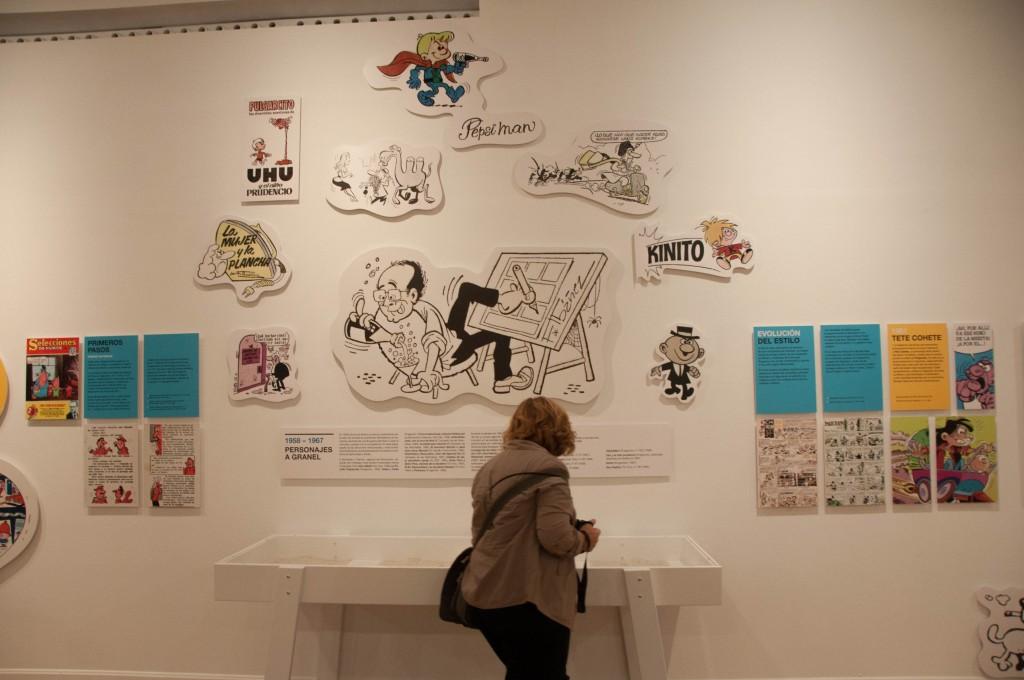 'Francisco Ibáñez, el mago del humor' en el Círculo de Bellas Artes
