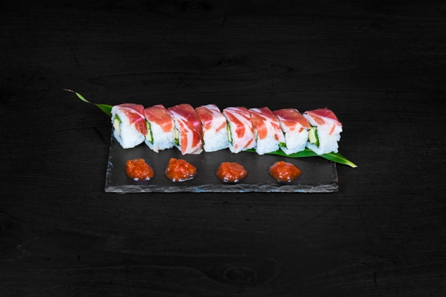 Añade sushi a tu menú de Navidad