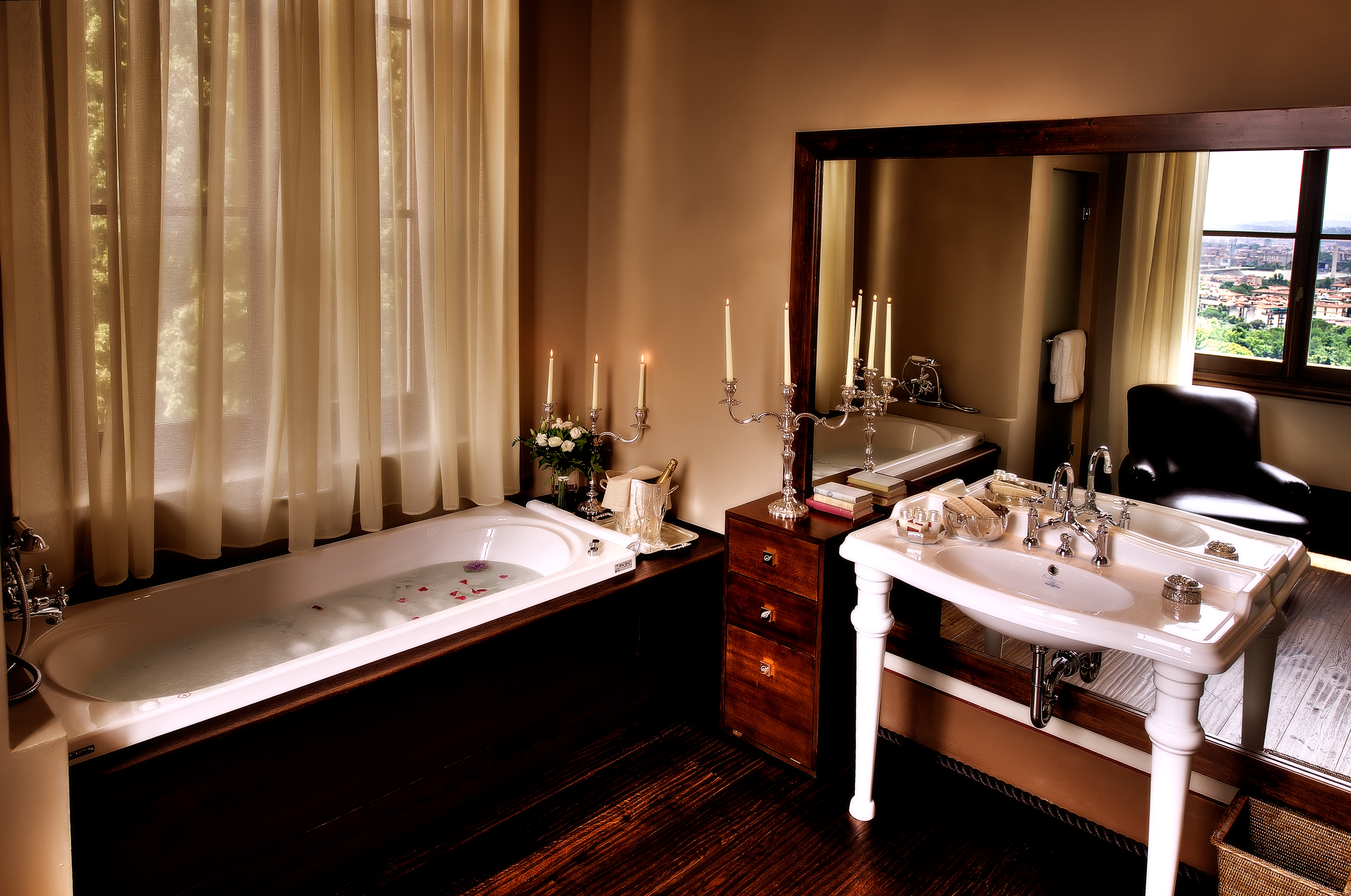 Bathroom, Salviatino Hotel - Fiesole - Florence – Italy