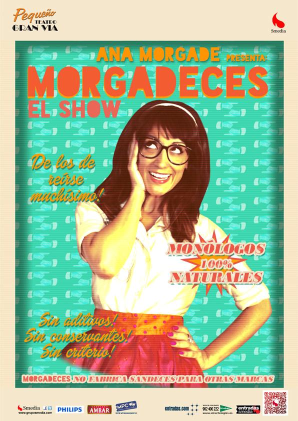 """Entrevista a Ana Morgade: """"somos un país lleno de humoristas, abre Twitter y verás"""""""