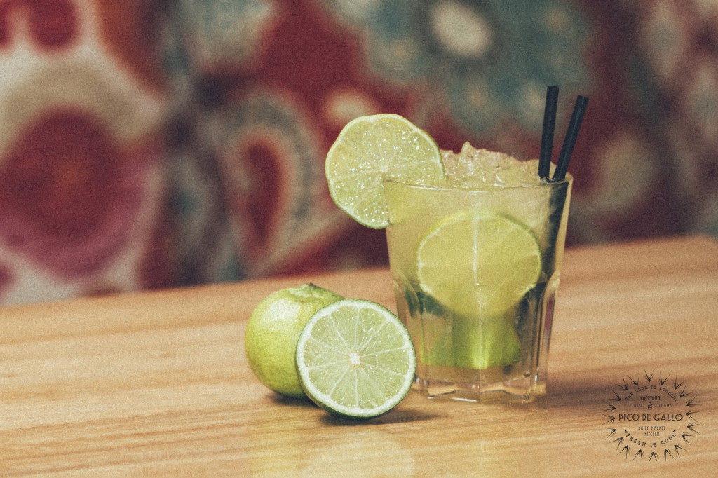 Pico de Gallo presenta sus cocktails tex&mex