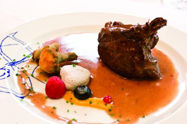 plato del restaurante arce en chueca madrid